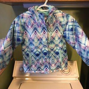 Girls children's place winter jacket size 5/6